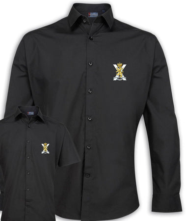 Royal Regiment of Scotland Regimental Poplin Shirt - Short or Long Sleeves