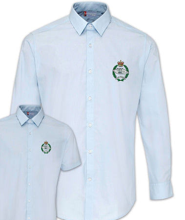 Royal Tank Regimental Poplin Shirt - Short or Long Sleeves