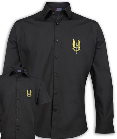 SAS Regimental Poplin Shirt - Short or Long Sleeves