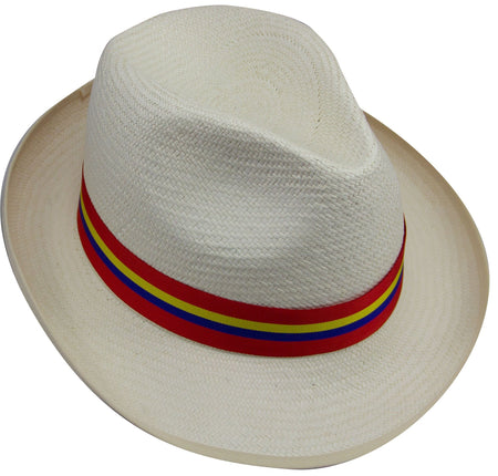 Sandhurst Panama Hat (stable belt colours) - regimentalshop.com
