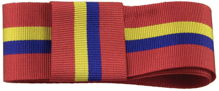 Sandhurst (Royal Military Academy) Ribbon for any brimmed hat (stable belt design) - regimentalshop.com