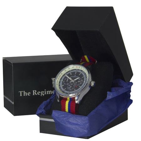 Royal Military Academy (Sandhurst)  Military Multi Dial Watch - regimentalshop.com