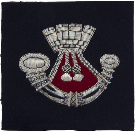 Somerset and Cornwall Light Infantry Blazer Badge