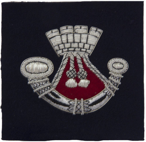 Somerset and Cornwall Light Infantry Blazer Badge - regimentalshop.com