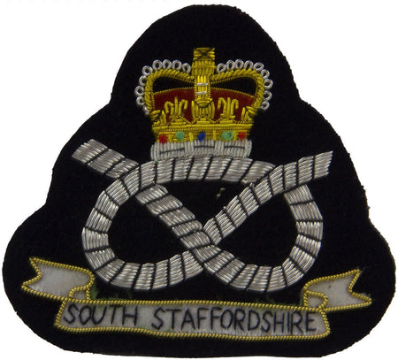 South Staffordshire Regiment Blazer Badge - regimentalshop.com