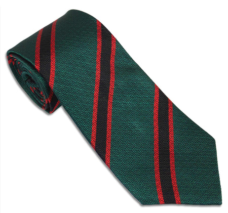 The Rifles Silk Non Crease Tie - 32% off - regimentalshop.com