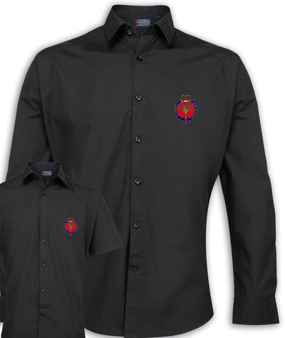 Welsh Guards Regimental Poplin Shirt - Short or Long Sleeves