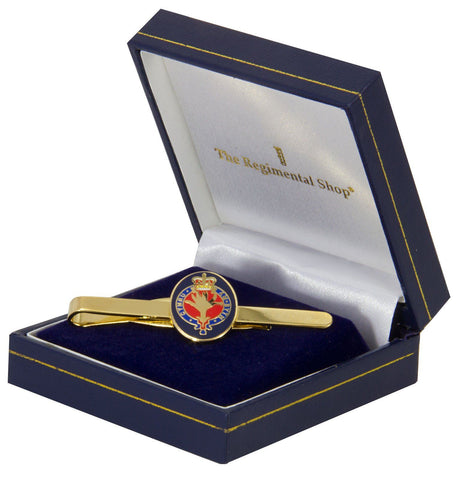 Welsh Guards Gilt Enamel Tie Clip