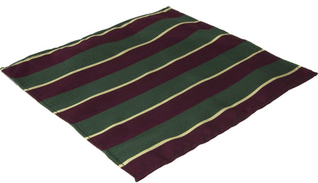Worcester and Sherwood Foresters Regiment Silk Pocket Square - regimentalshop.com
