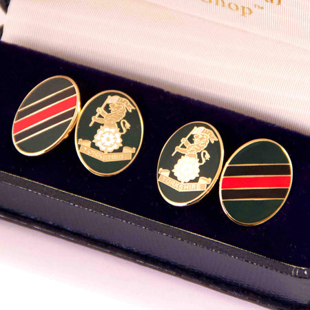 Yorkshire Regiment Cufflinks - regimentalshop.com