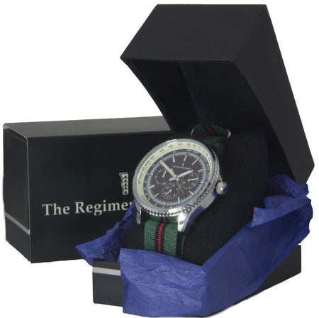 Yorkshire Regiment Military Multi Dial Watch - regimentalshop.com