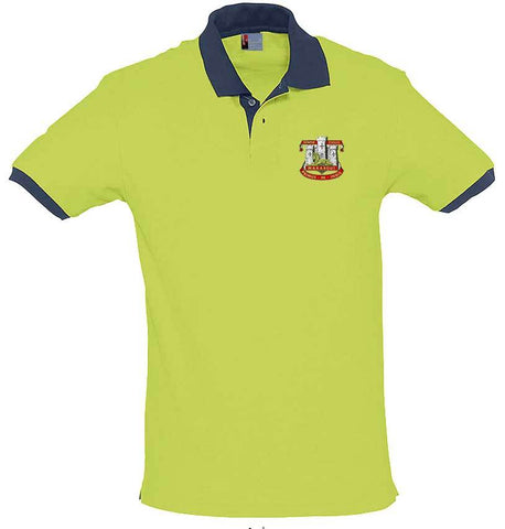 Devonshire and Dorset Two-Tone Regimental Polo Shirt - regimentalshop.com