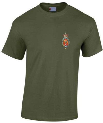 Blues and Royals Heavy Cotton T-shirt