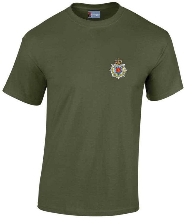 Royal Corps of Transport Heavy Cotton T-shirt - regimentalshop.com