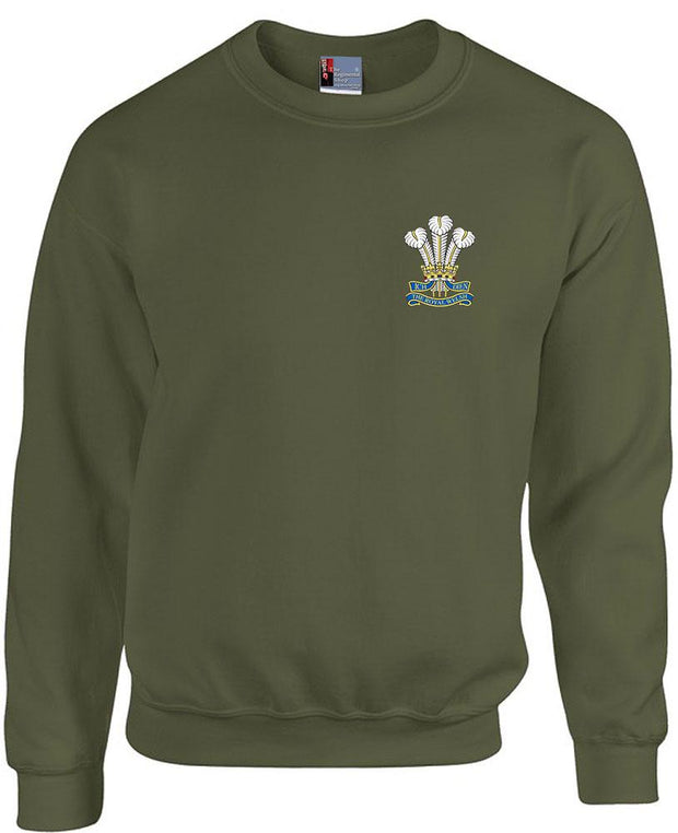 Royal Welsh Regiment Heavy Duty Sweatshirt - regimentalshop.com