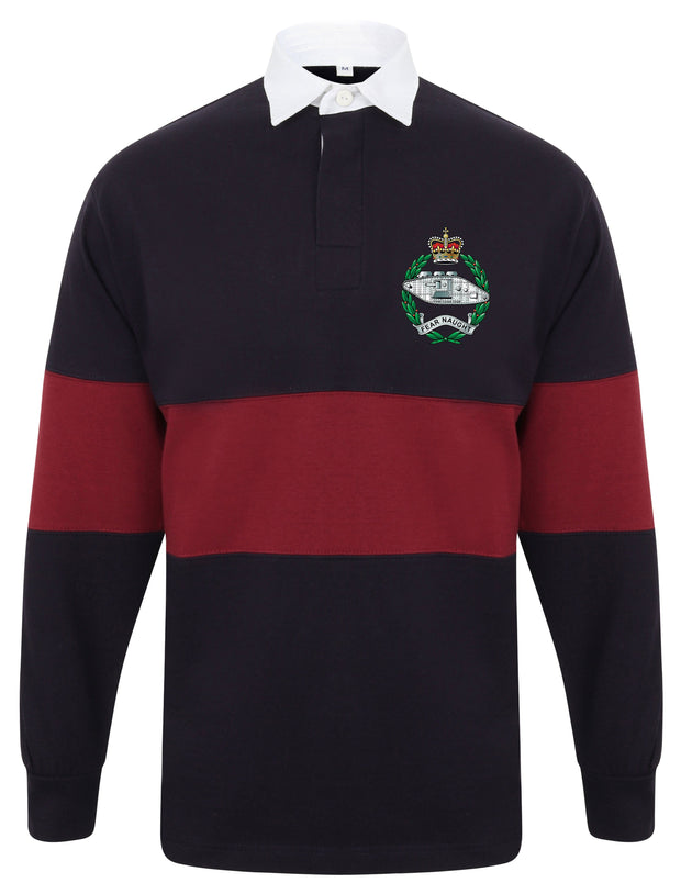 Royal Tank Regiment Panelled Rugby Shirt - regimentalshop.com