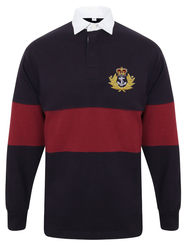 Royal Navy Panelled Rugby Shirt - regimentalshop.com