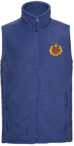 Duke of Lancaster's Regiment Premium Outdoor Sleeveless Fleece (Gilet) - regimentalshop.com