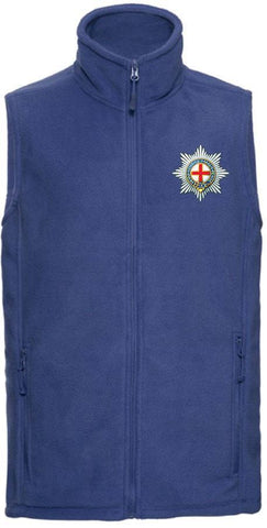 Coldstream Guards Outdoor Sleeveless Fleece (Gilet) - regimentalshop.com