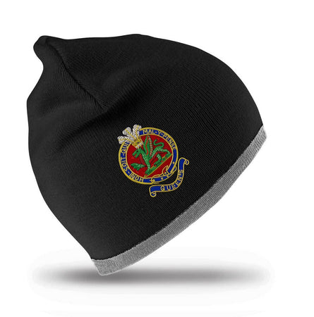 Queen's Regiment Beanie Hat - regimentalshop.com