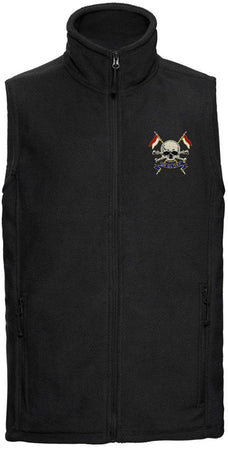 The Royal Lancers Premium Outdoor Sleeveless Regimental Fleece (Gilet) - regimentalshop.com