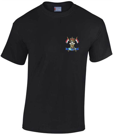 b1e7ce71 9/12 Royal Lancers Heavy Cotton T-shirt - regimentalshop.com