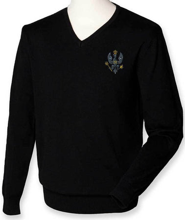 King's Royal Hussars Regimental Lightweight Jumper - regimentalshop.com