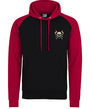 The Royal Lancers Premium Baseball Hoodie - regimentalshop.com