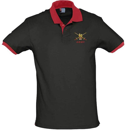 Regular Army Two-Tone Polo Shirt