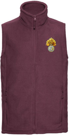 Royal Regiment of Fusiliers Premium Outdoor Sleeveless Fleece (Gilet) - regimentalshop.com