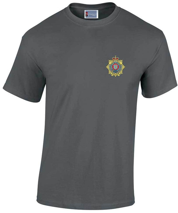 Royal Logistic Corps (RLC) Heavy Cotton Regimental T-shirt - regimentalshop.com