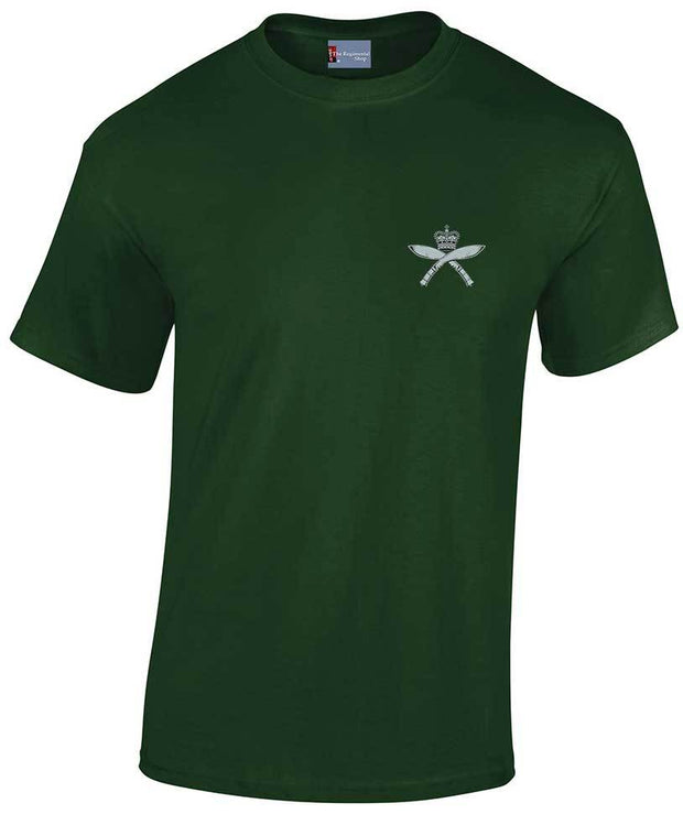 Royal Gurkha Rifles Heavy Cotton Regimental T-shirt - regimentalshop.com