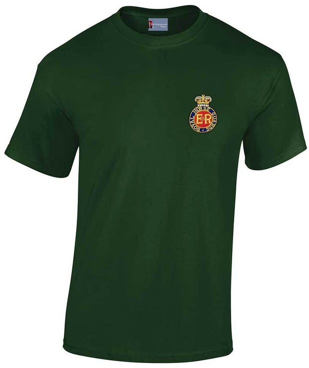 Royal Horse Guards Heavy Cotton Regimental T-shirt - regimentalshop.com