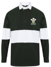 Royal Welsh Regiment Panelled Rugby Shirt - regimentalshop.com