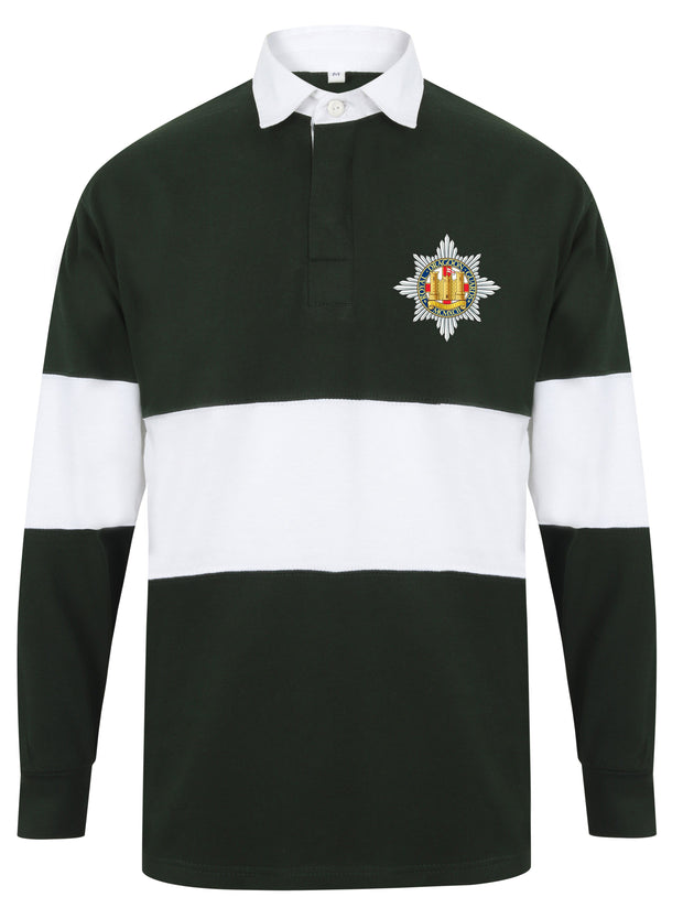 Royal Dragoon Guards Regiment Panelled Rugby Shirt - regimentalshop.com