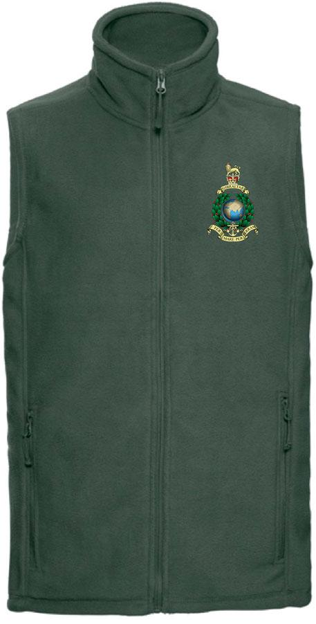 Royal Marines Premium Outdoor Sleeveless Regimental Fleece (Gilet) - regimentalshop.com