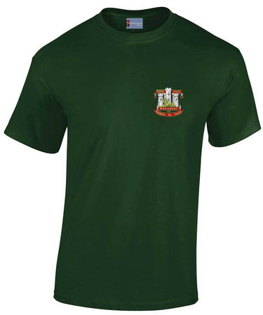 Devonshire and Dorset Heavy Cotton Regimental T-shirt
