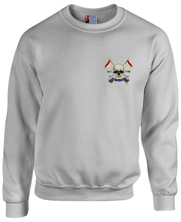 The Royal Lancers Heavy Duty Regimental Sweatshirt (2015) - regimentalshop.com