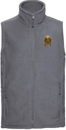 Queen's Regiment Premium Outdoor Sleeveless Fleece (Gilet) - regimentalshop.com