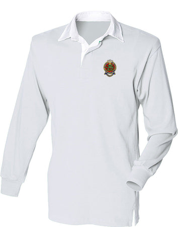 Queen's Regiment Rugby Shirt - regimentalshop.com