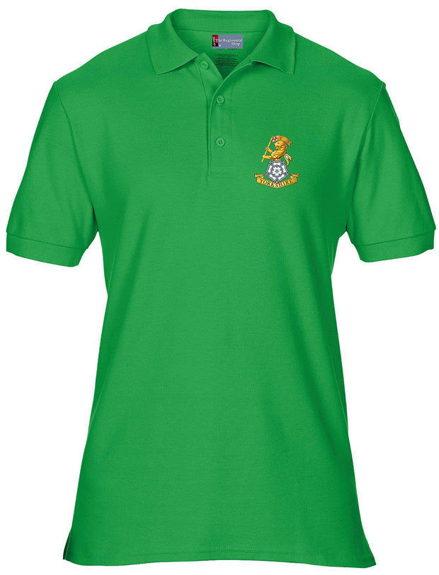 Yorkshire Regiment Polo Shirt - regimentalshop.com