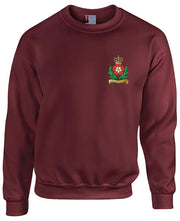 Intelligence Corps Regimental Heavy Duty Sweatshirt - regimentalshop.com