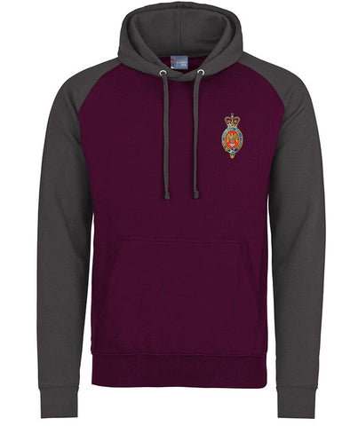 Blues and Royals Regiment Premium Baseball Hoodie