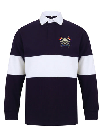 Royal Lancers Panelled Rugby Shirt - regimentalshop.com