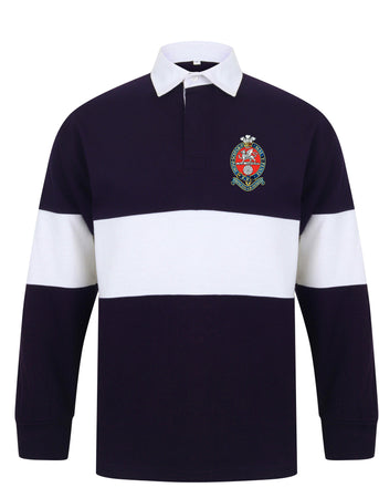 Princess of Wales's Royal Regiment Panelled Rugby Shirt - regimentalshop.com