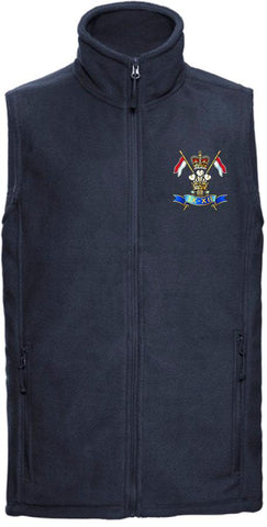 9th/12th Royal Lancers Premium Outdoor Sleeveless Regimental Fleece (Gilet)