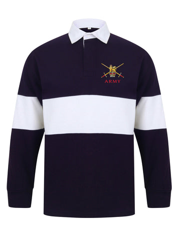Regular Army Panelled Rugby Shirt - regimentalshop.com