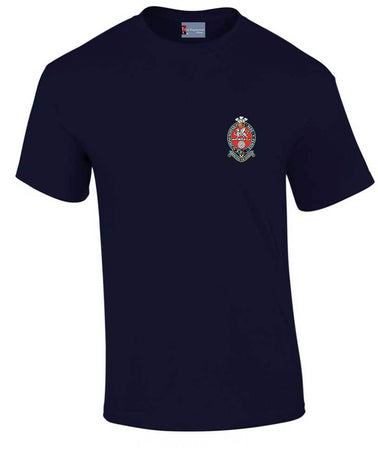 Princess of Wales's Royal Regiment Heavy Cotton T-shirt - regimentalshop.com