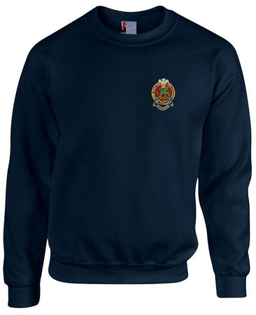 Queen's Regiment Heavy Duty Sweatshirt - regimentalshop.com