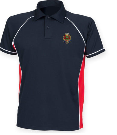 Queen's Regiment Sports Polo Shirt - regimentalshop.com